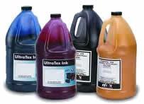Ink Bottles, ink, bottles, blue ink, cyan ink, magenta ink, black ink, yellow ink,